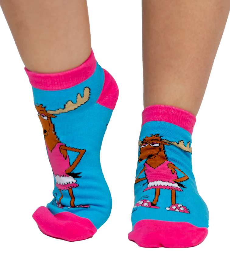 Don't Moose Around Women's Slipper Sock