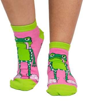 Toadally Tired Women's Slipper Sock