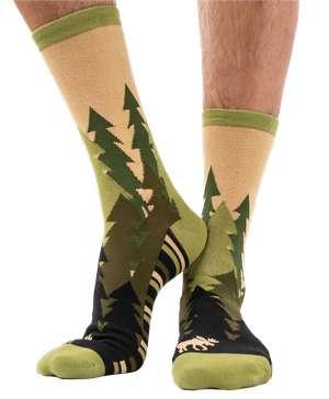 Forest Crew Socks