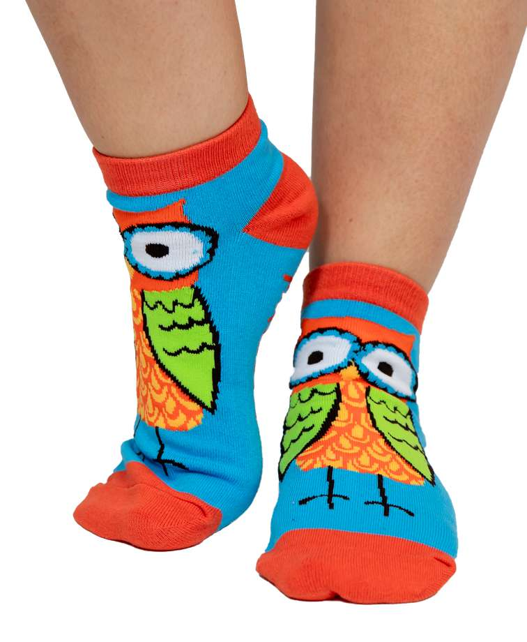 Owl Yours Slipper Sock