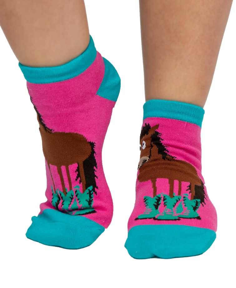 Booty Sleep Horse Women's Slipper Sock