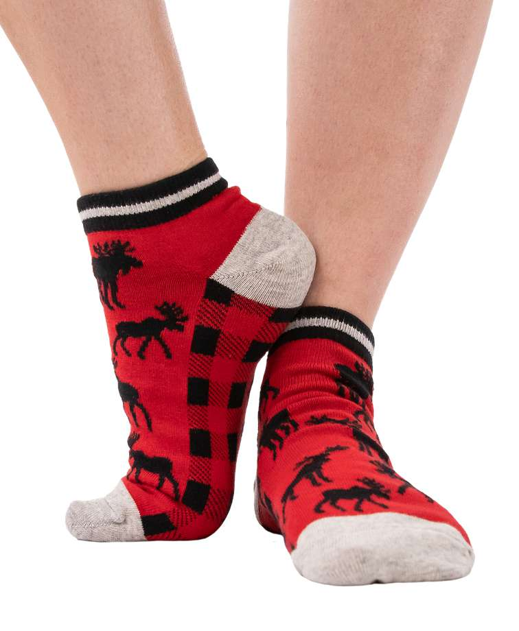 Classic Moose Anklet Sock