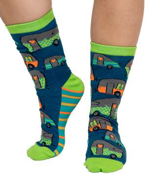 Night Out Camper Crew Sock