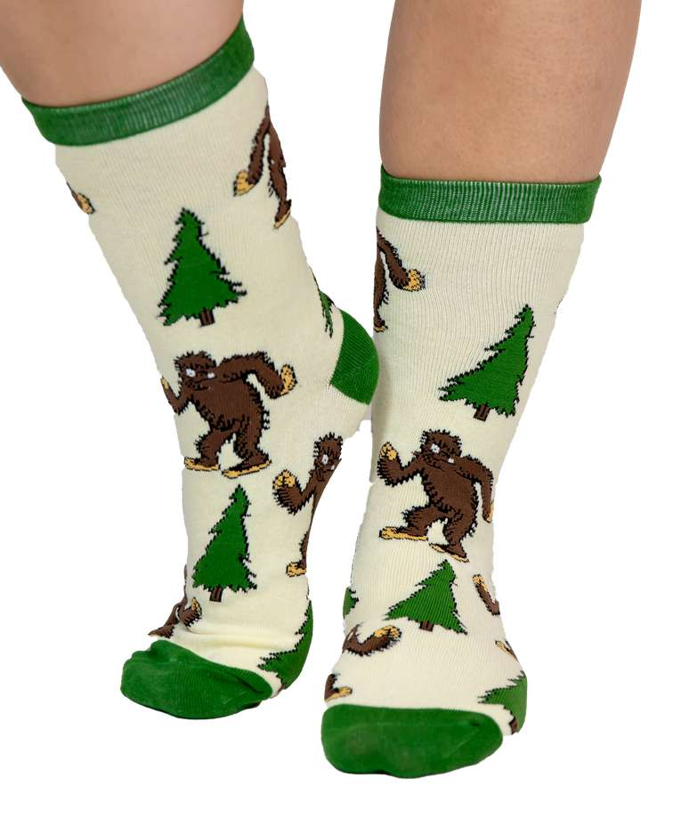 I Believe...Bigfoot Crew Sock