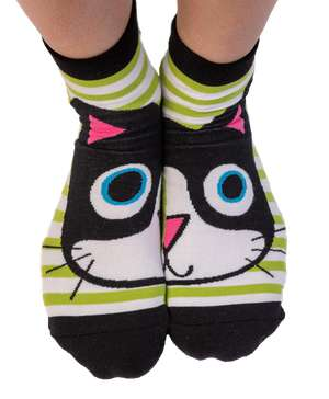 Catitude Cat Anklet Sock