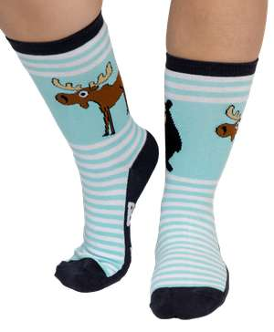 Born Wild Crew Sock