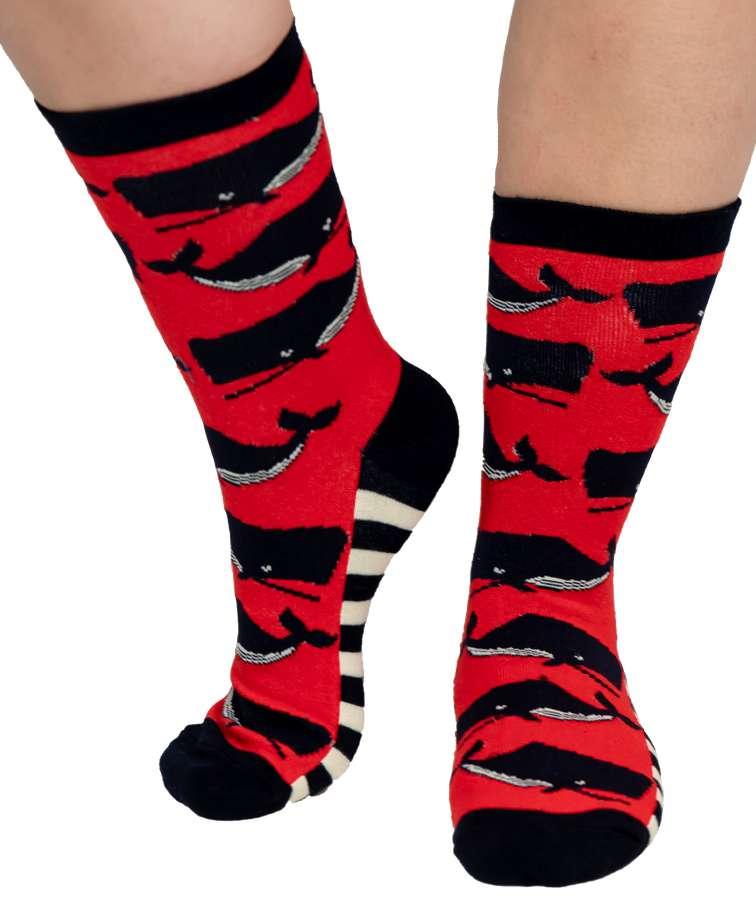 Whale Crew Sock