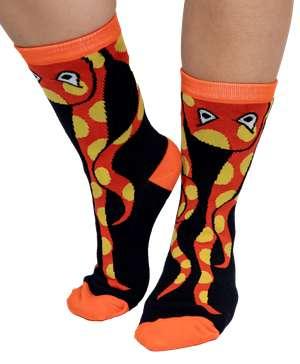 Release the Cracken Octopus Crew Sock