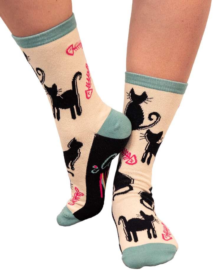 Cat Nap Crew Sock
