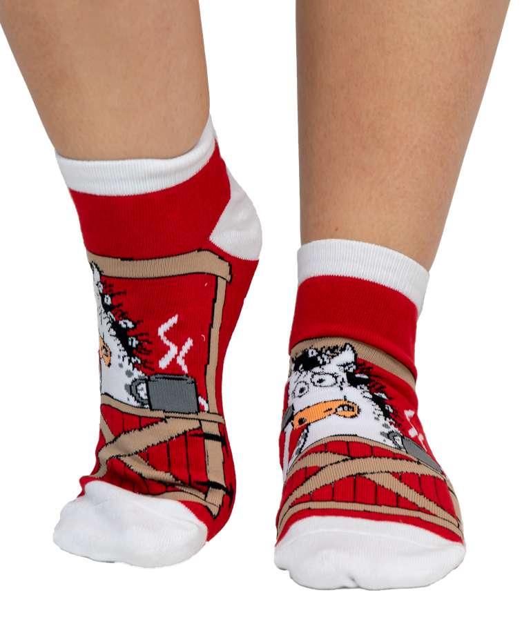 Unstable in the Morning Horse Women's Slipper Sock
