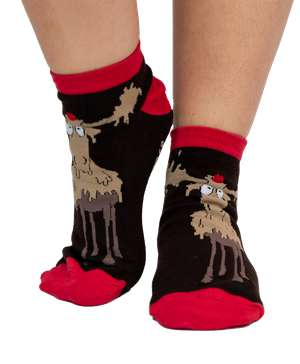Chocolate Moose Women's Slipper Sock