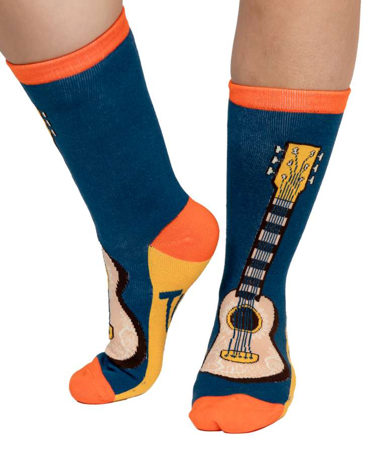 Tuned Out - Guitar   Crew Sock