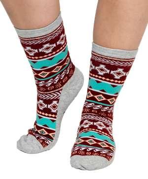 Kokopelli   Crew Sock