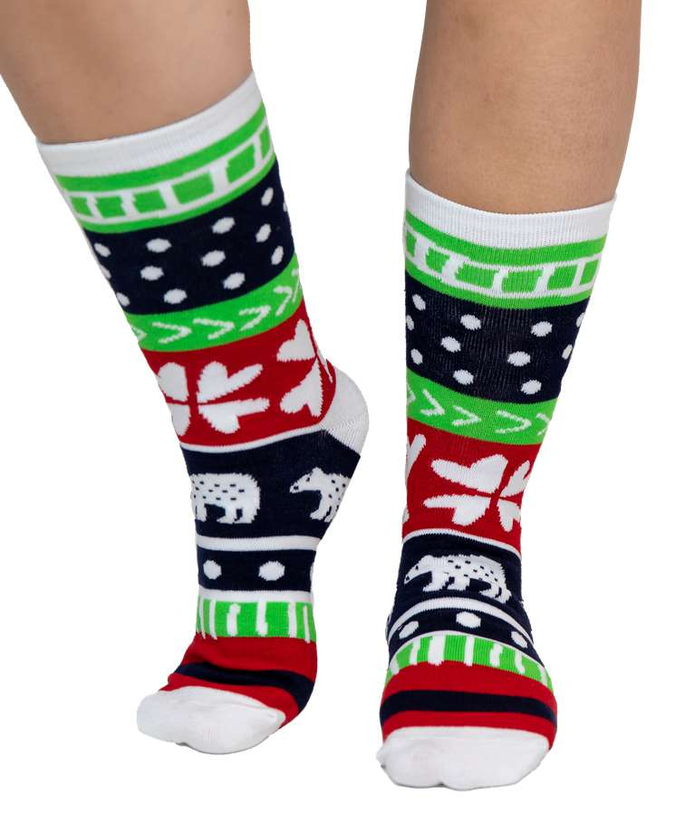 Sweater Bear Crew Sock