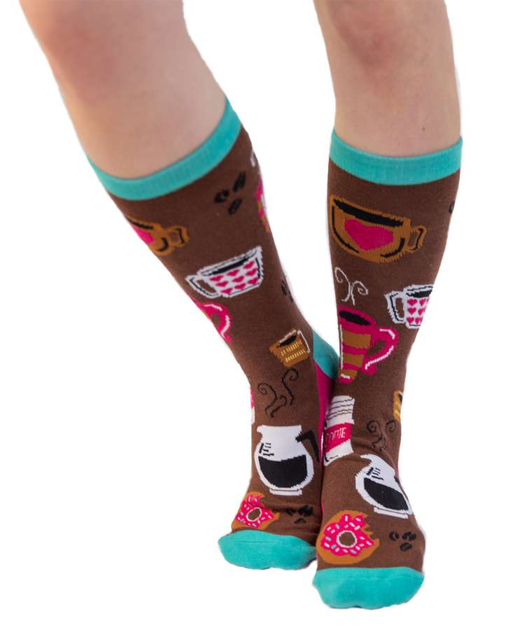 Latte Crew Sock