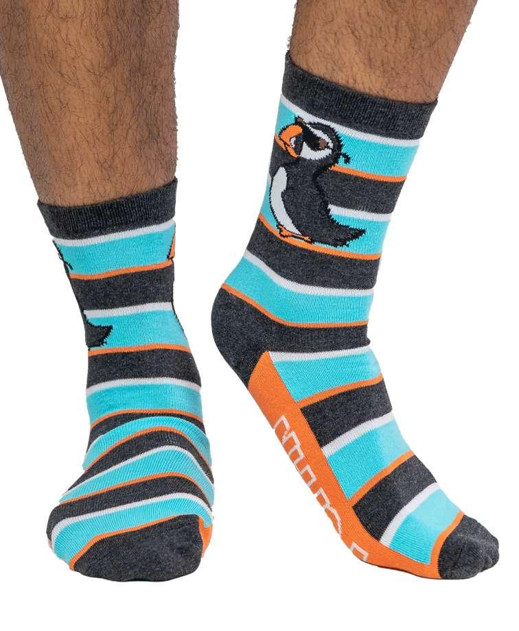 Stud Puffin Crew Sock