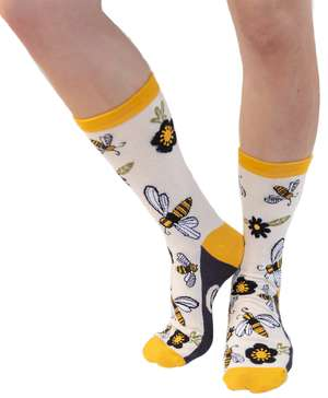 Queen Bee Crew Sock