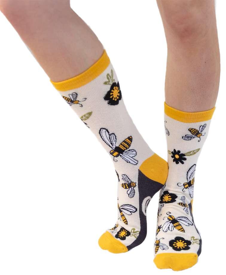 Queen Bee Crew Sock