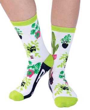 Plant Lady Crew Sock