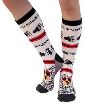 Beary Cool Crew Sock