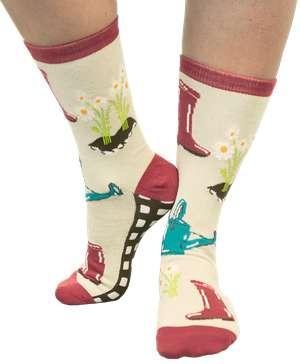Love My Bed Gardening Crew Sock