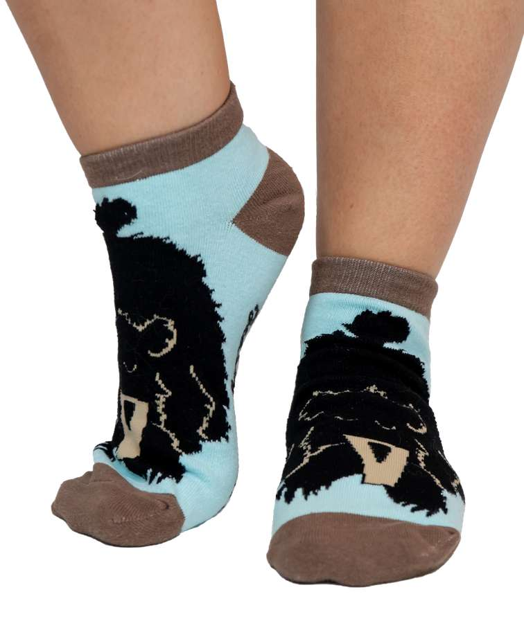 Bearly Awake Women's Slipper Sock