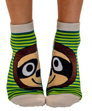 Take It Easy Sloth Anklet Sock