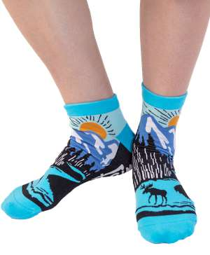 Mountain Bound Anklet Sock