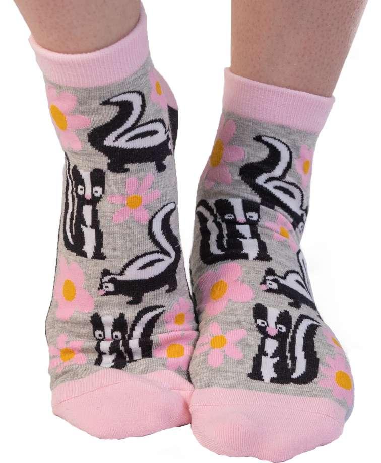 Stinky Feet Skunk Anklet Sock