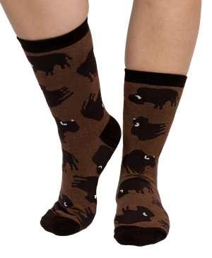 Buffalo Crew Sock
