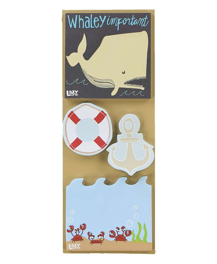 Whaley Important Nautical Sticky Pad