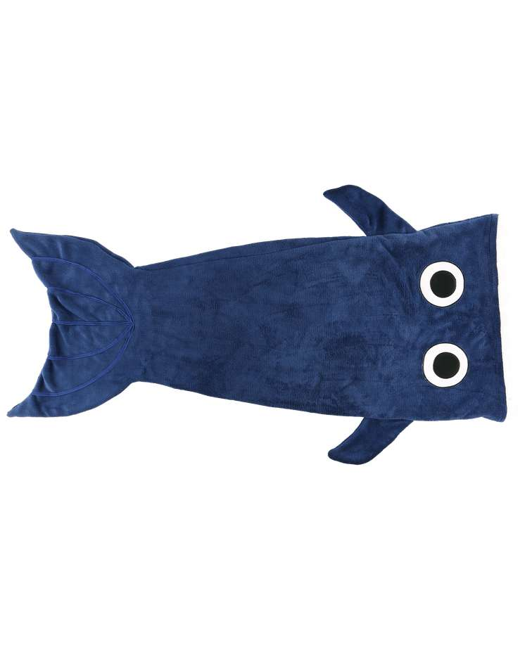 Whale Kid's Tail Blanket