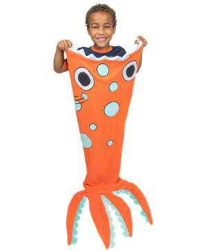 Sea Monster Kid's Tail Blanket