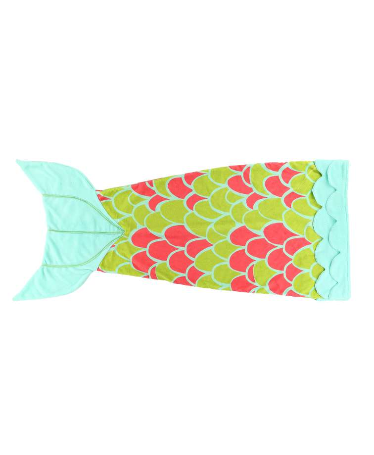 Mermaid Kid's Tail Blanket