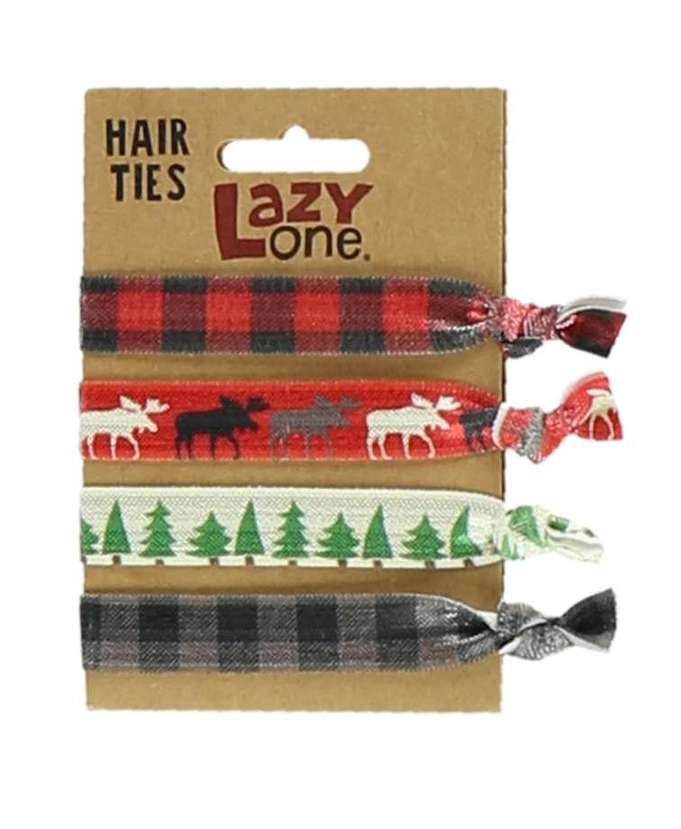 Red Moose Hair Ties
