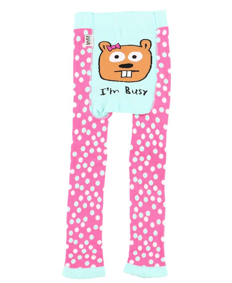 I'm Busy Toddler Beaver Leggings