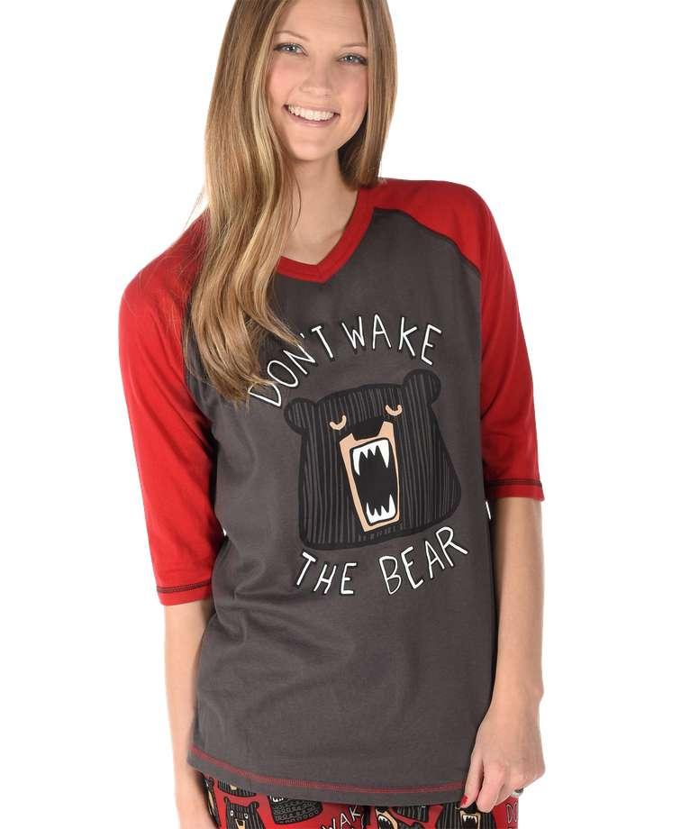 Don't Wake Bear Women's Tall Tee