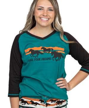 Chase Your Dreams Horse Women's Tall Tee