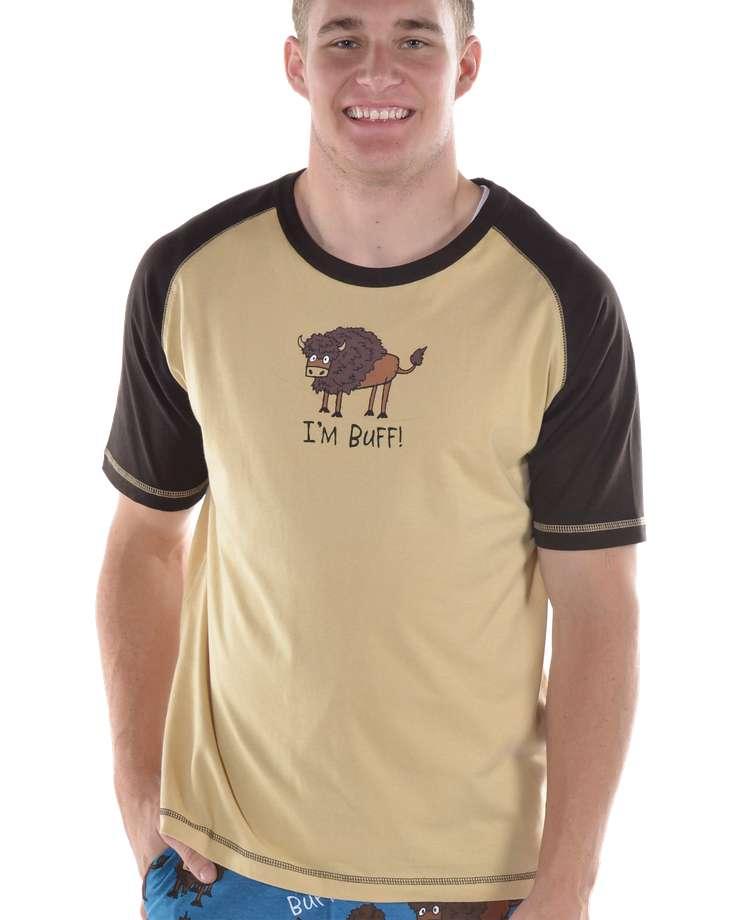 I'm Buff Men's Buffalo PJ Tee
