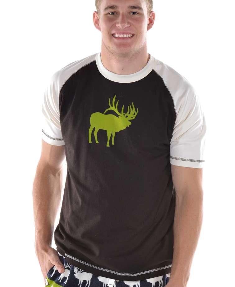 Elk Fair Isle Men's PJ Tee
