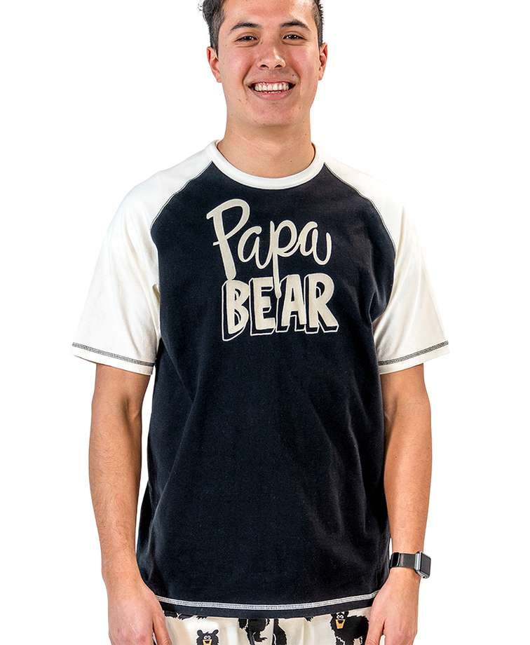 Papa Bear Men's PJ Tee