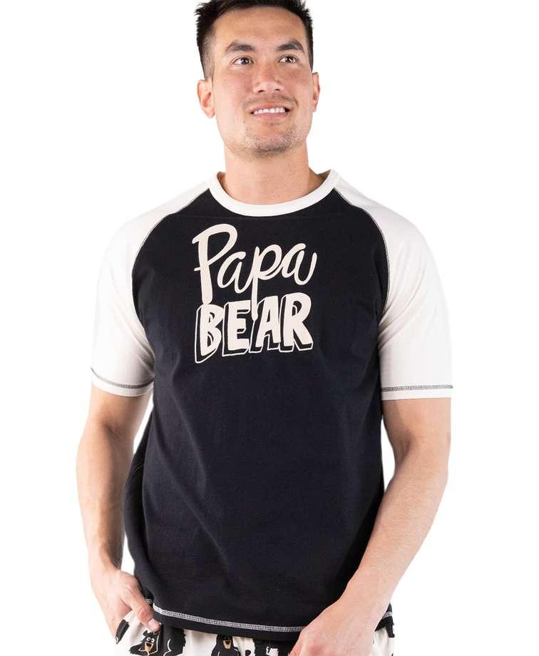 Papa Bear Men's PJ Tee