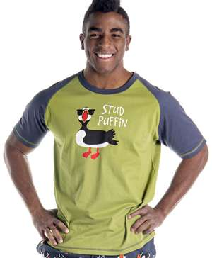 Stud Puffin Men's PJ Tee - Clearance