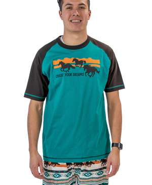 Chase Your Dreams Men's Horse PJ Tee