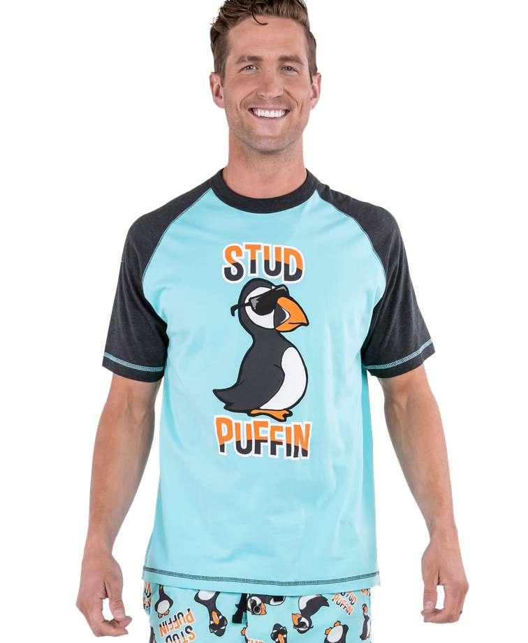 Stud Puffin Men's PJ Tee