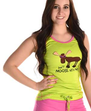 Don't Moose With Me Women's Tank Top - Clearance