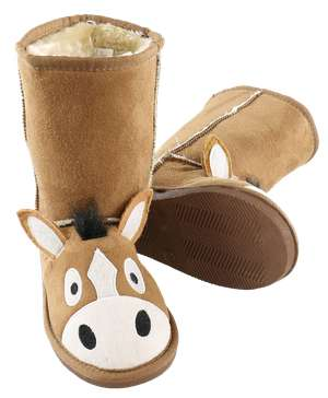 Kid's Horse Slipper Boots