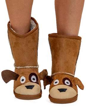 Kid's Dog Slipper Boots