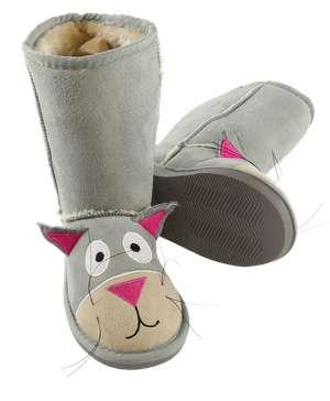 Kid's Cat Slipper Boots