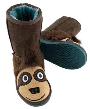 Kid's Sloth Slipper Boots